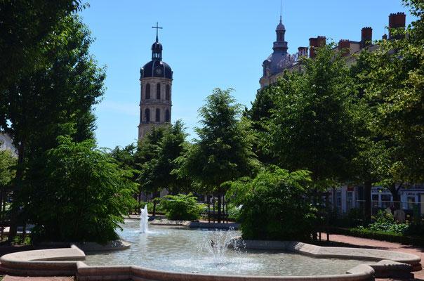 Blick von Place Bellecour