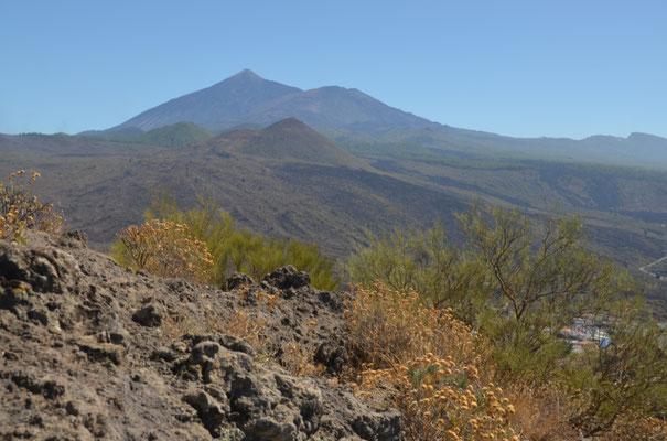 Der allgegenwärtige Teide