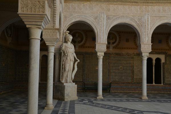 Innenhof des Haus de Pilatos