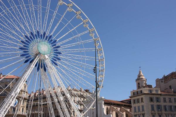 wieder am Hafen von Marseille