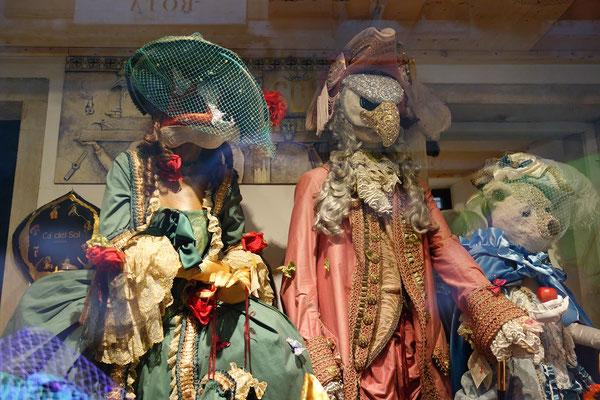 Die berühmten Masken von Venedig
