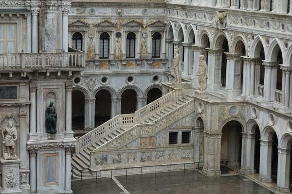 Innenhof des Dogenpalastes