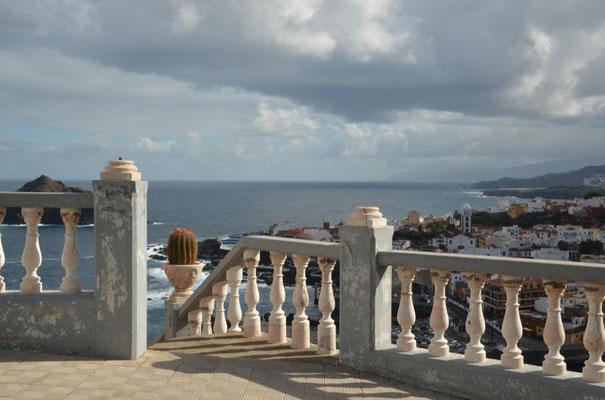 Von dem Ort San Pedro hat man eine schöne Sicht auf Garachico