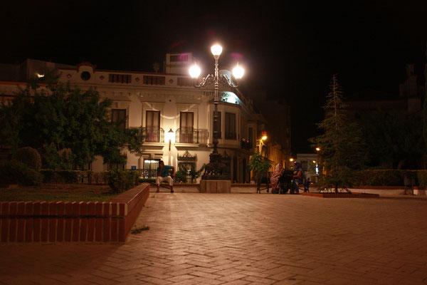 Nachts am Plaza de Angustinos