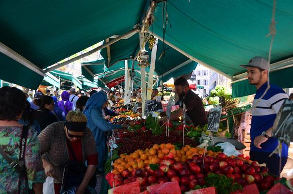 Die Märkte Südfrankreichs sind voller frischem, schmackhaftem Obst und Gemüse