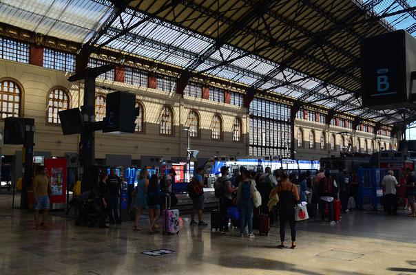 in dem ältesten Bahnhof von Marseille Gare de Marseille Saint-Charles
