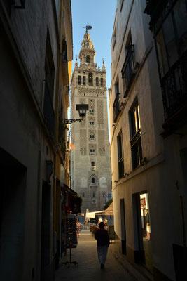 Die Giralda, ein Wahrzeichen der Stadt Sevilla