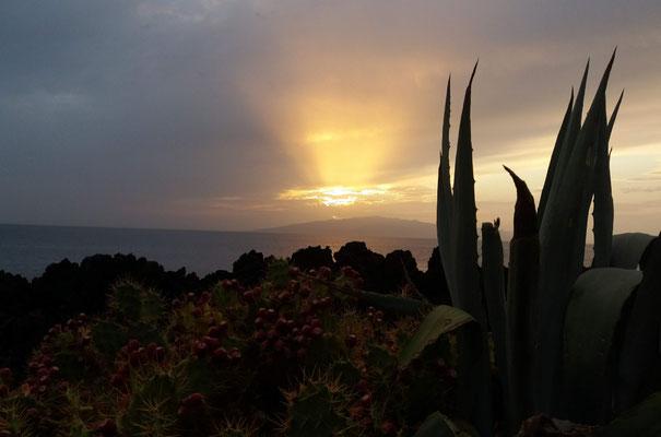 Der letzte Sonnenuntergang für uns