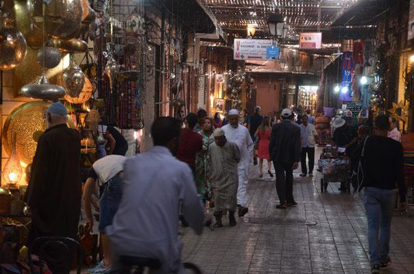 In den Souks der Medina