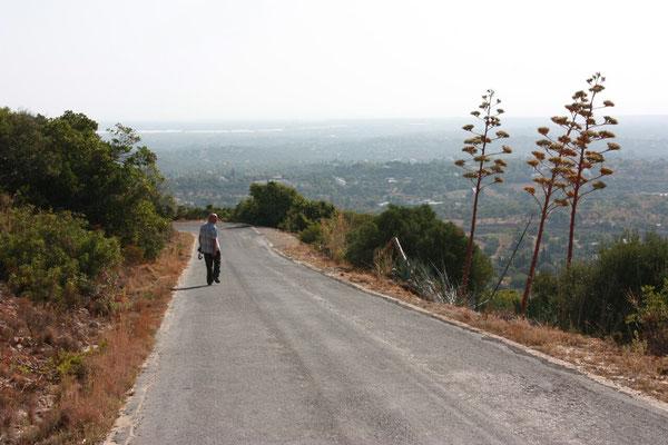 Auf dem Sao Miguel, mit 410m ist er der höchste Berg an der Ost-Algarve.