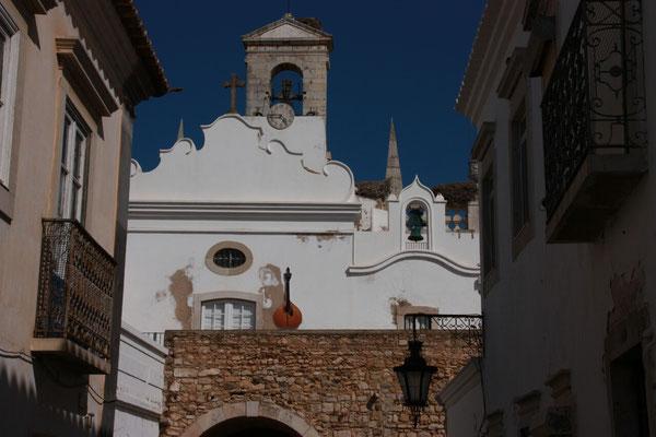 In der Altstadt von Faro