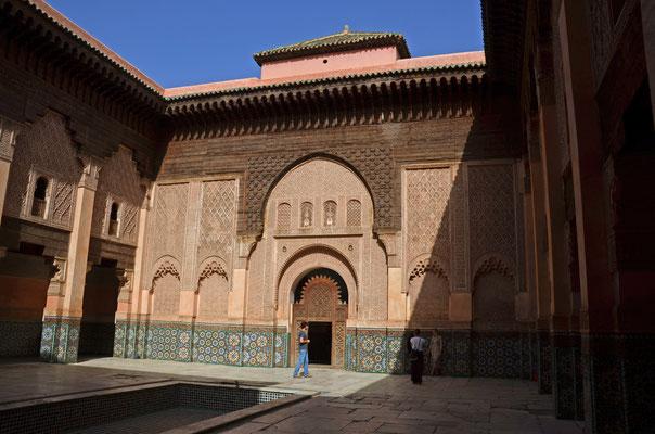 Medersa Ben Youssef, die bedeutendste Koranschule des Maghreb