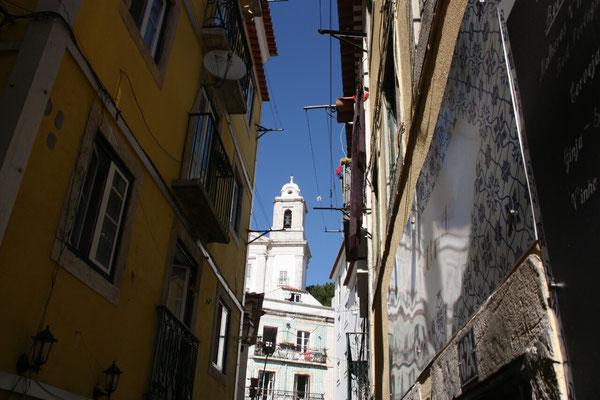 Vom 09.-13. September sind wir in Lissabon, wir wohnen in der Altstadt, in Alfama, was sich als perfekt herausstellt.