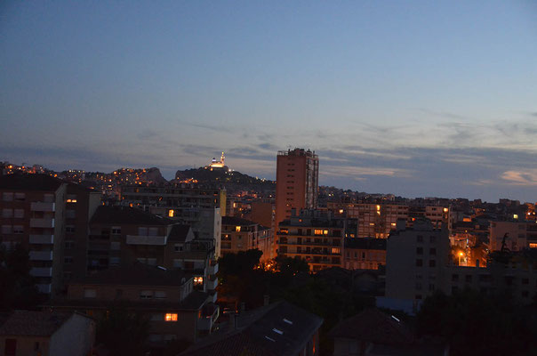 unser letzter Abend in Marseille