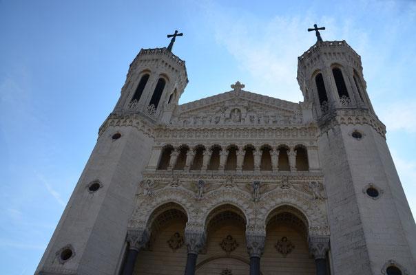 die Basilika Notre Dame in Fourviere