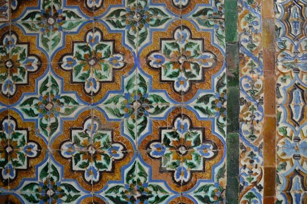 Wie in vielen Gebäuden beeindrucken auch hier die prächtigen Mosaike.....