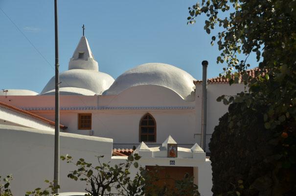Die Kirche von Santiago del Teide