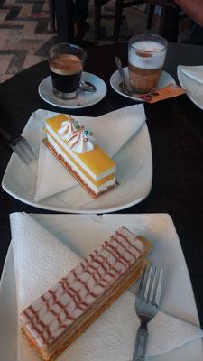 die Süßigkeiten in Marokko sind sehr lecker aber nicht so süß, wie in anderen orientalischen Ländern