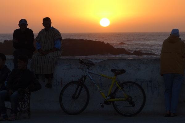 Unser erster Abend in Essaouira