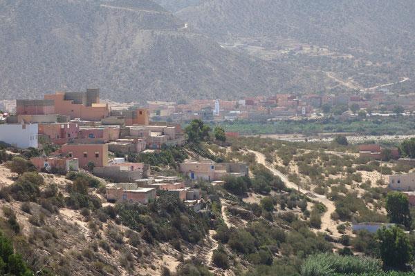 auf dem Weg nach Agadir ....