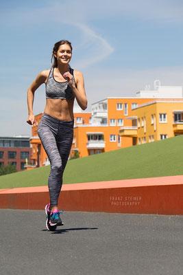 Sport / Joggen / München / Sommer / Fitness