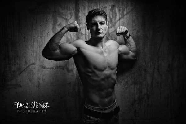 Foto von Noel / Natural Bodybuilding / Fitnessmodel / Sedcardshooting München / Fotografie München
