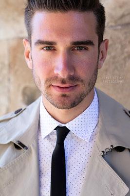 Foto von Michael Eder / Mann / Model / Businessoutfit / Krawatte