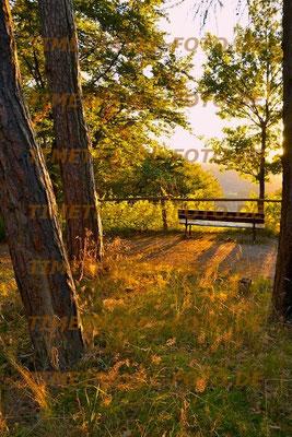 Ein Platz mit Aussicht an der Abendsonne. Foto: Esther Knipschild