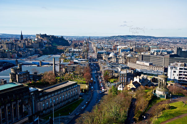 Princes Street. Foto: Esther Knipschild