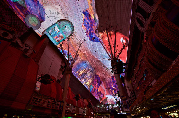Fremont Street Experience. Foto: Esther Knipschild