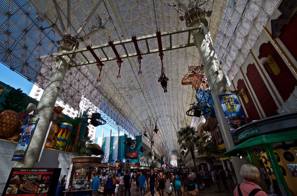 Flying Fremont Street. Foto: Esther Knipschild