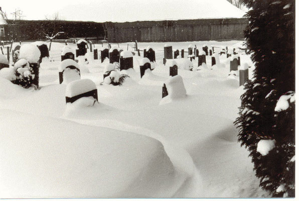 Januar 1985; alter Friedhof