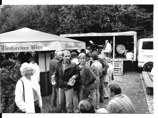 Einweihung der Grillhütte ca. 1983