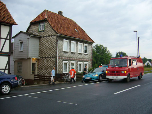 Feuerwehreinsatz bei Krügelers