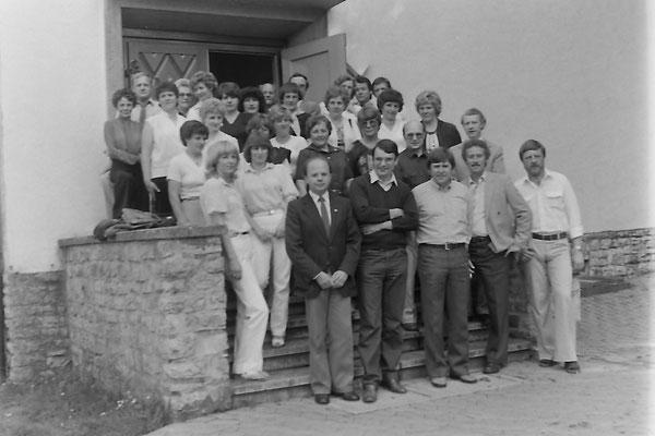 Klassentreffen in Eimen 30./31. Mai l981