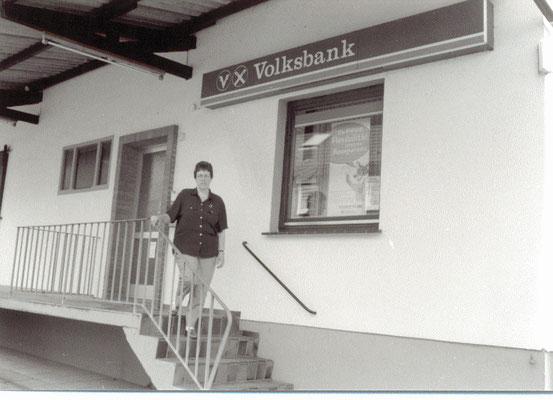 Abschied von Der Volksbank Einbeck in Eimen mit Heike Helmker