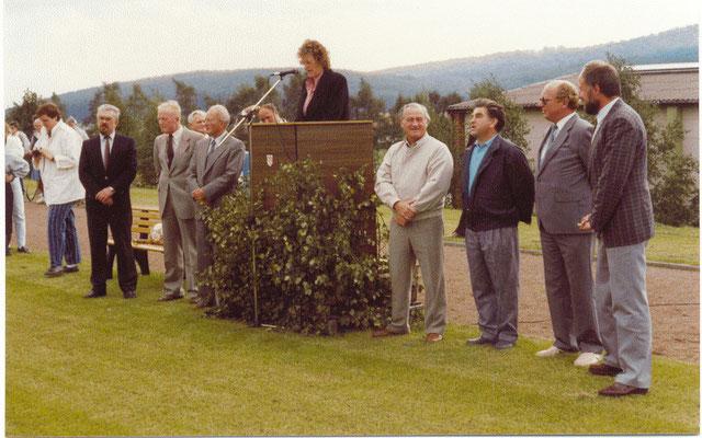 Sportplatzeinweihung Mainzholzen 12.9.1987