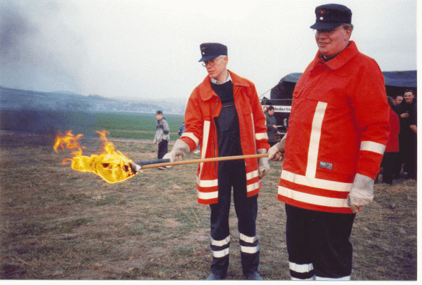 Osterfeuer 2003