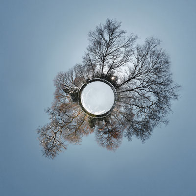 Stadtpark · 90 x 90 cm · Leinwand auf Keilrahmen: € 640,- ·  Aludibond: € 780,- ·  Acrylglas auf Aludibond: € 940,-  · © Stefan Korff