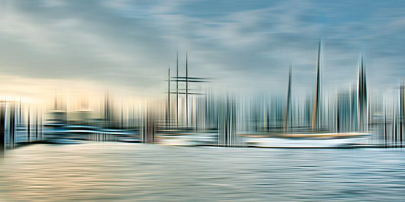 Niederhafen · 120 x 60 cm ·  Leinwand auf Keilrahmen: € 470,- · Aludibond: € 590,- · Acrylglas auf Aludibond: € 720,-  · © Karena Kanamüller