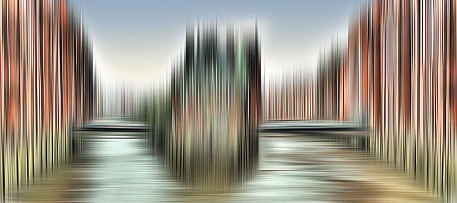 Teekontor  · 150 x 66 cm  ·  Leinwand auf Keilrahmen: € 620,- · Aludibond: € 780,- ·  Acrylglas auf Aludibond: € 950,-  · © Karena Kanamüller