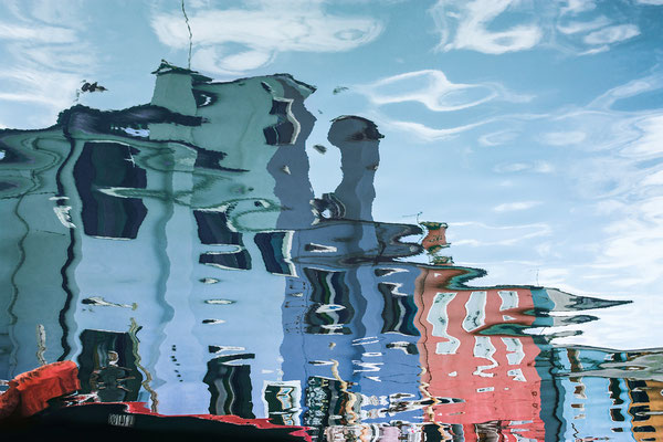 Venezianische Unterwelten III · 120 x 80 cm  ·   Preis auf Anfrage  ·  © Karena Kanamüller