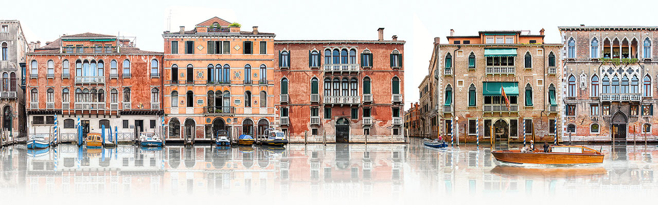 Canale Grande III · 190 x 60 cm · Leinwand auf Keilrahmen: € 930,- ·  Aludibond: € 1.130,- ·  Acrylglas auf Aludibond: € 1.340,-  · © Stefan Korff