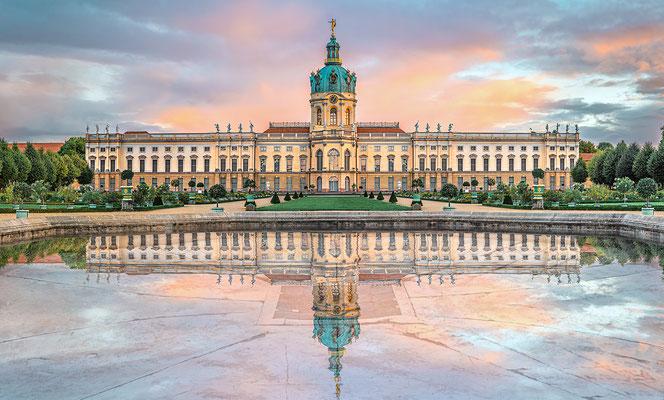 Charlottenburger Schloss Quer II, 160 x 95 cm  ·  Leinwand auf Keilrahmen: € 950- · Aludibond: € 1.190,- ·Acrylglas auf Aludibond: € 1.440,-  ·  © Stefan Korff