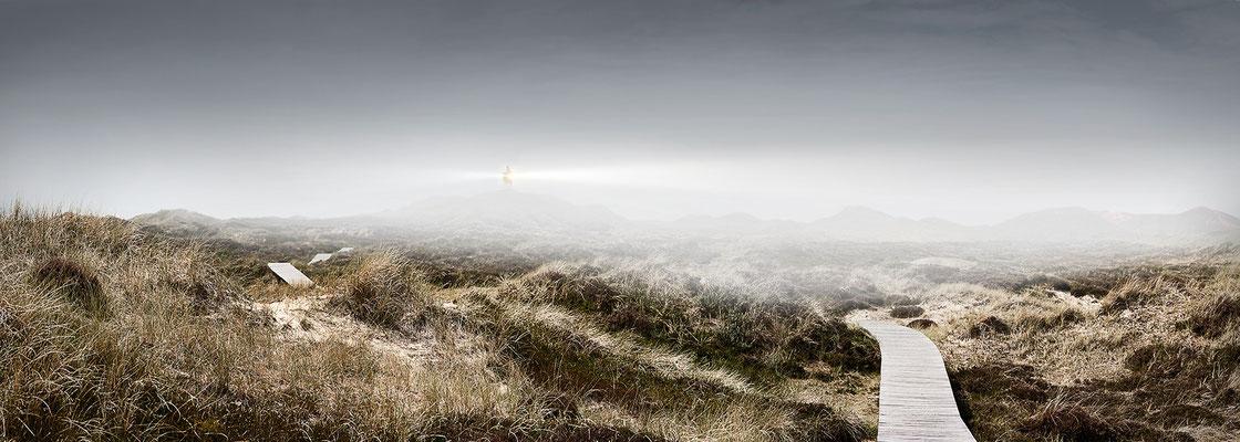 Quermarkenfeuer Amrum · 200 x 70 cm · Leinwand auf Keilrahmen: € 850,- · Aludibond: € 1.070,- · Acrylglas auf Aludibond: € 1.290,-  · © Stefan Korff