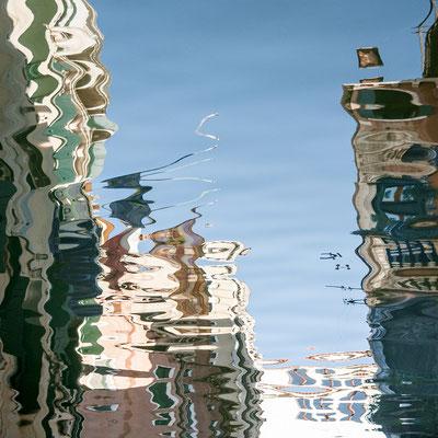 Venezianische Unterwelten XIV · 80 x 80 cm  ·  Preis auf Anfrage  ·  © Karena Kanamüller
