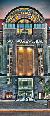 KaDeWe, 60 x 140 cm  ·  Leinwand auf Keilrahmen: € 580,- · Aludibond: € 710,- ·Acrylglas auf Aludibond: € 850,-  · © Stefan Korff