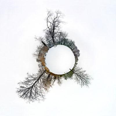 Winter I · 90 x 90 cm · Leinwand auf Keilrahmen: € 640,- ·  Aludibond: € 780,- ·  Acrylglas auf Aludibond: € 940,-  · © Stefan Korff