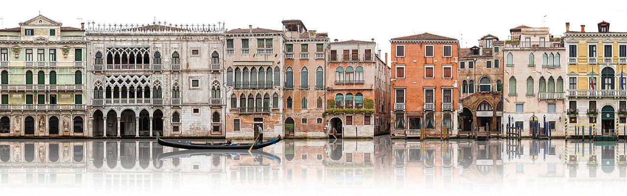 Canale Grande I · 190 x 60 cm · Leinwand auf Keilrahmen: € 930,- ·  Aludibond: € 1.130,- ·  Acrylglas auf Aludibond: € 1.340,-  · © Stefan Korff