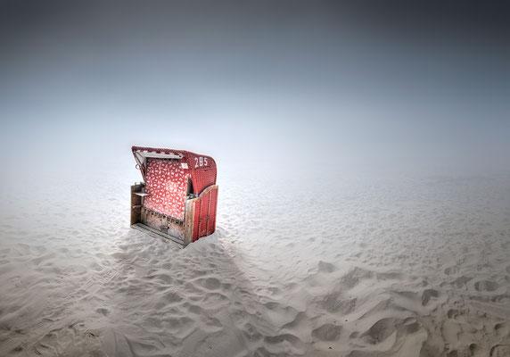 Strandkorb · 100 x 70 cm · Leinwand auf Keilrahmen: € 460,- ·  Aludibond: € 570,- ·  Acrylglas auf Aludibond: € 710,-  · © Stefan Korff